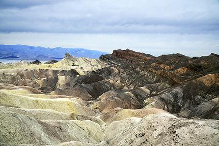 Death valley site de Zabriskie Point