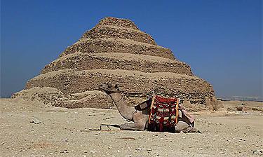 Pyramides de Saqqarah (environs du Caire)