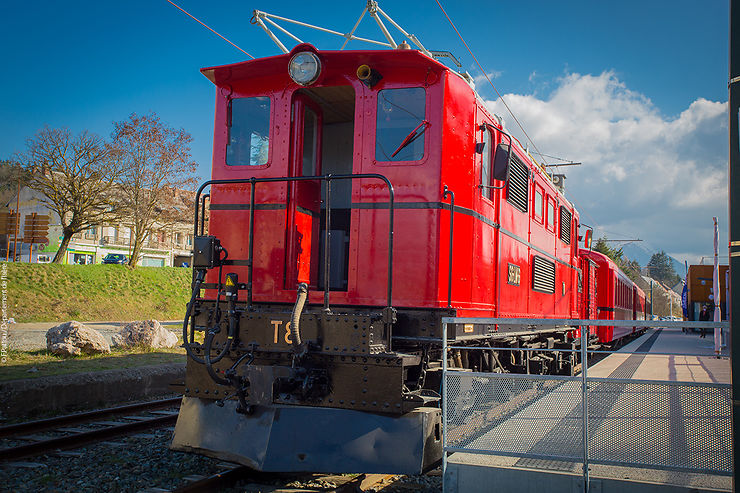 Isère - Le petit train touristique de la Mure à nouveau sur les rails