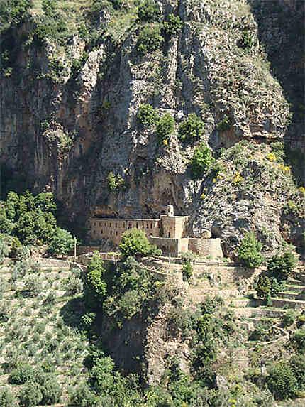 Vue du monastère