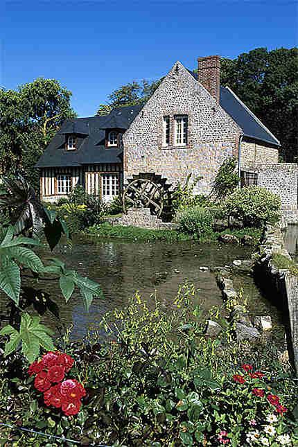 Moulin à eau, Veules-les-Roses