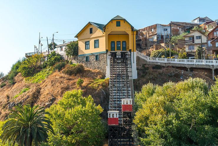 Funiculaires (Ascensor) - Valparaiso, Chili
