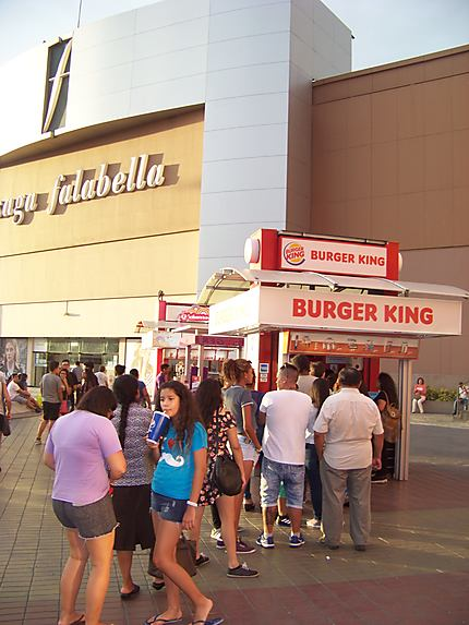 Stand Burger King