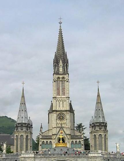 Lourdes, le sanctuaire
