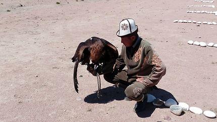 Fauconnerie au Kirghizistan