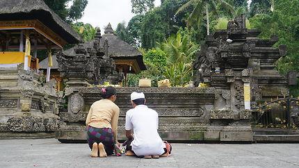 Découverte de l'île de Bali, contemplation