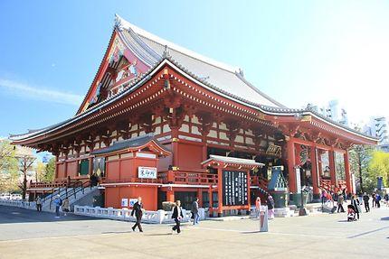 Temple de Kannon dans le parc Senso-ji, Tokyo