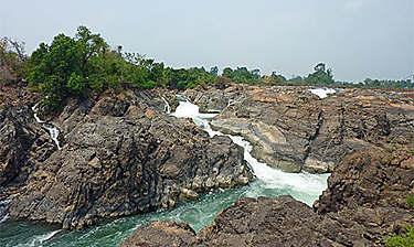 Chutes de Li Phi (district de Siphandone)