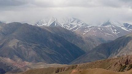 Beau paysage au Kirghizistan