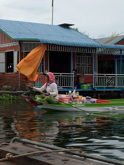 Traversée du lac de Tonlé Sap