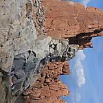 Rochers de porphyre rouge d'Arbatax