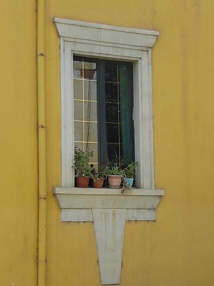 Fenêtre à Tirana