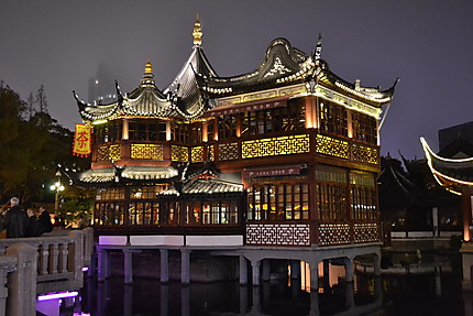 Yu garden maison de thé Hu Xin Ting