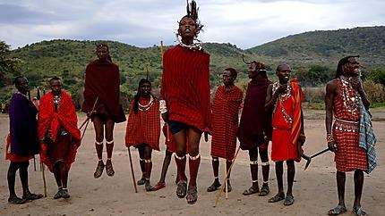 """Danse Masaï dite """"de la séduction"""""""