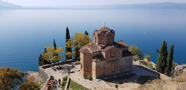 Eglise à Ohrid, Macédoine