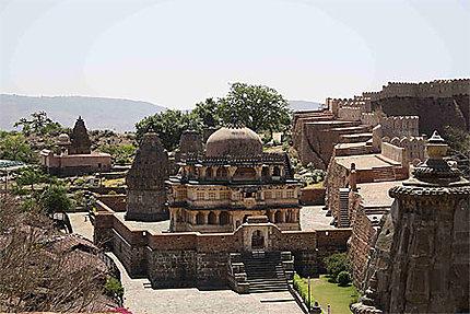 Temple et remparts