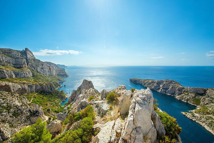 Calanques de Marseille et de Piana (Bouches-du-Rhône et Corse)