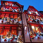Décorations de Noël à Strasbourg