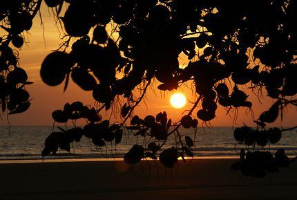 Coucher de soleil sur le Pacifique au Panama