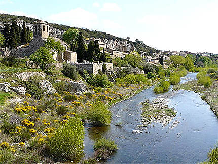 Le joli village du Minervois