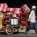 Commerçant ambulant à Pattaya