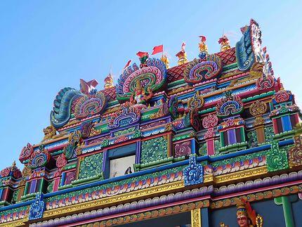 Temple Tamoul à Saint-Pierre