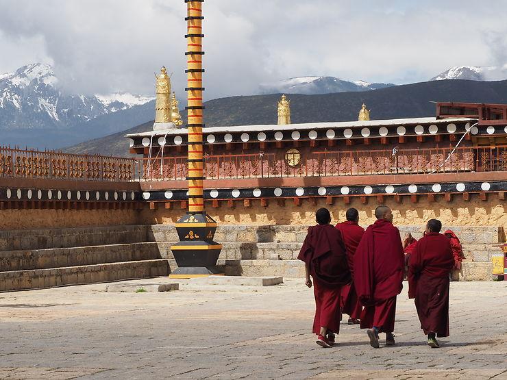Monastère de Songzanlin, Chine