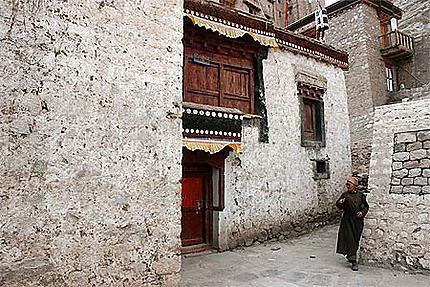 Dans la vieille ville de Leh