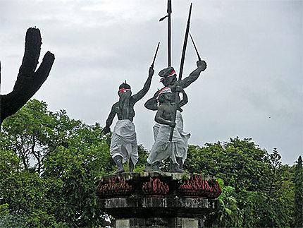 Monument de commémoration du puputan de 1906