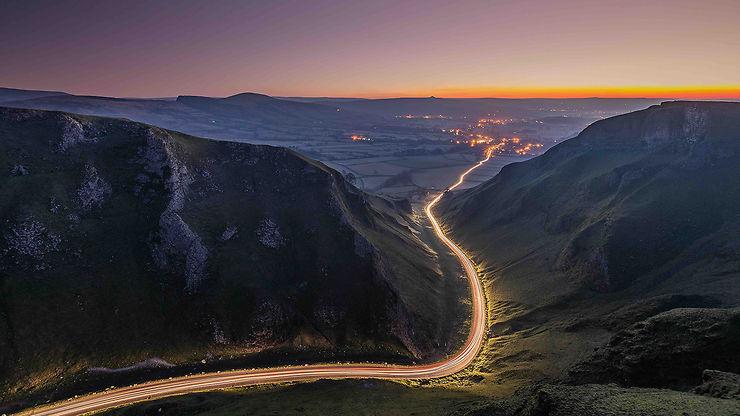 Route de lumière, Derbyshire