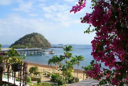 Séjour à Taboga, Panama