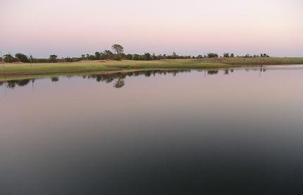 Crépuscule sur le lac Kariba