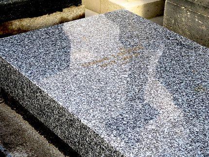 Tombe de Gérard Lauzier