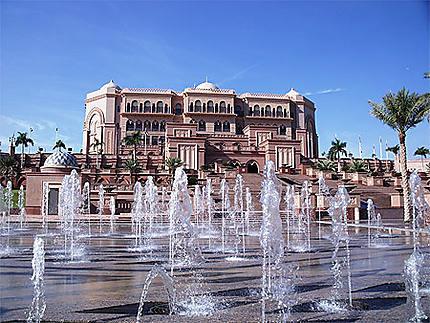 Le palais de l'émir et ses fontaines
