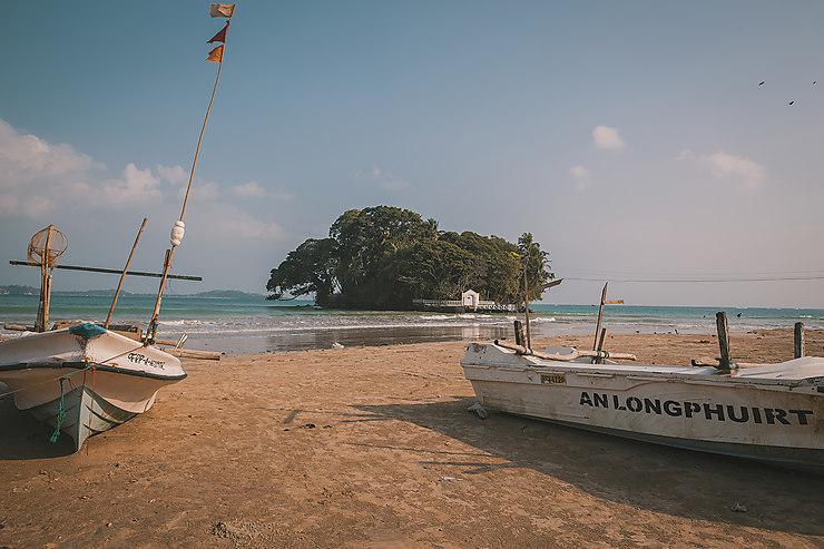 Echoués sur une plage