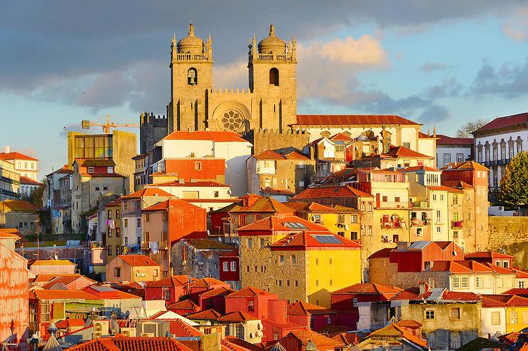 Le vieux quartier de la Ribeira, au bord du Douro