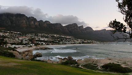 Cap Town, plage de Camps Bay