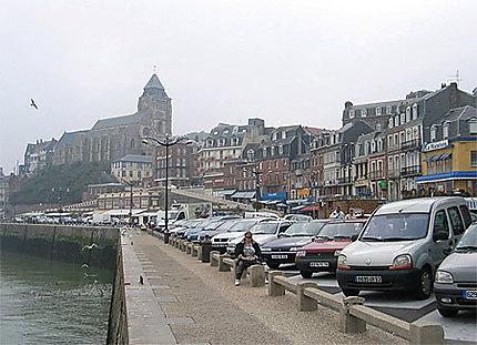 Le Tréport et l'église St-Jacques