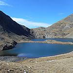 Estany Blau et Puig de la Cometa
