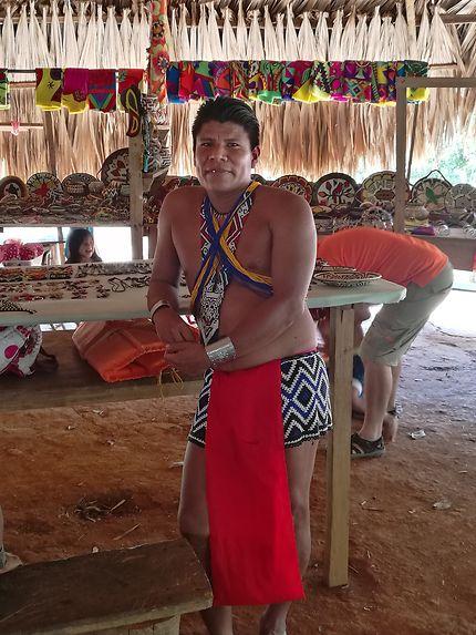 Portrait au Embera Quera Village