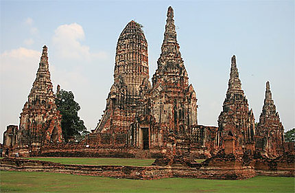 Le fabuleux Wat Chai Wattanaram