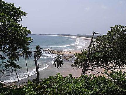 La pointe sud du Ghana