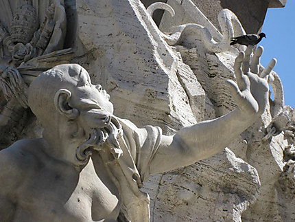 Statue de la Piazza Navona