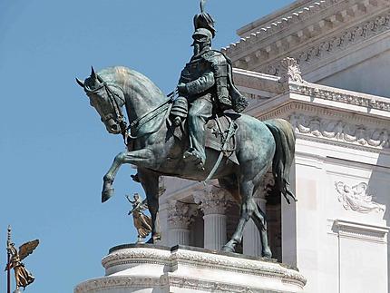 Statue Monument Vittorio Emmanuel