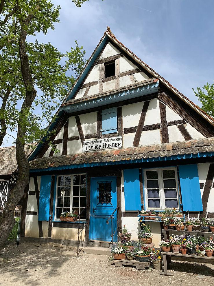 L'écomusée d'Alsace à Ungersheim