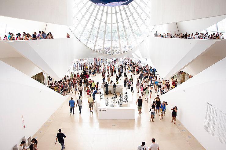 Brésil - Inauguration du Musée de Demain à Rio de Janeiro