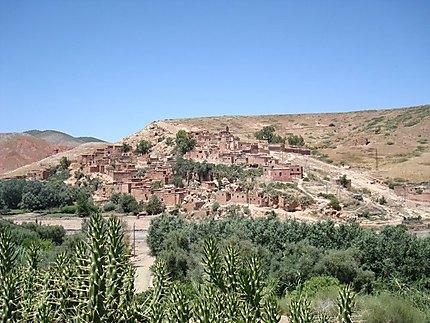 Joli village de l'Anti-Atlas