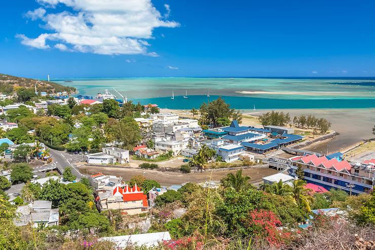 Port-Mathurin, petite capitale de l'île Rodrigues