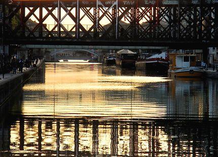 Canal de l' Ourcq