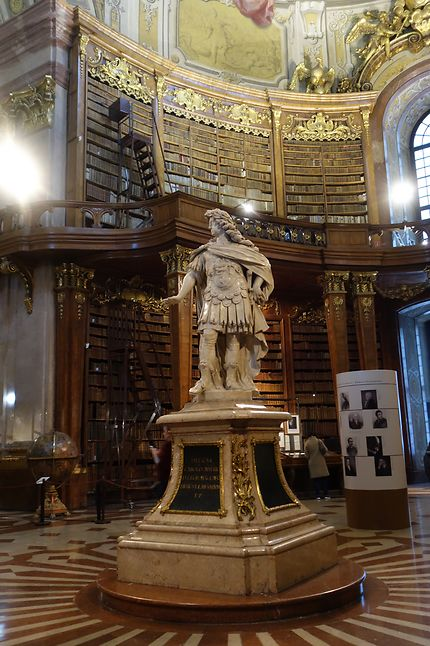 Salle d'apparat de la Bibliothèque Nationale